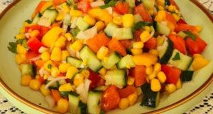 Свежий салат без майонеза