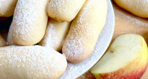 Трубочки на кефире с сахаром и корицей