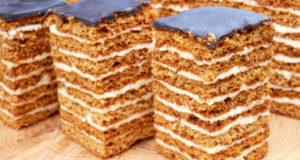 Торт Медовый пух