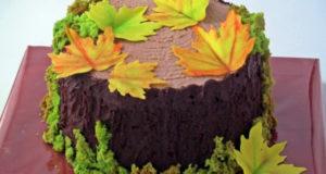 Торт Осенний пенек