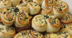 Булочки с сыром и шпинатом