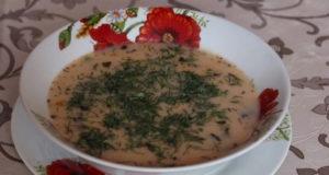Тосканский суп с фаршем
