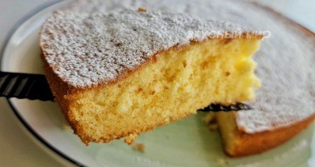 Нежный апельсиновый пирог