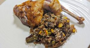 Домашний цыплёнок с начинкой