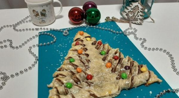 Слоеный пирог-Новогодняя Ёлочка