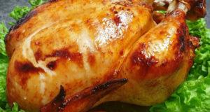 Курица гриль с хрустящей корочкой