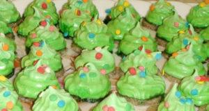 Новогоднее печенье Ёлочки