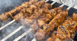 Куриный шашлык в экспресс маринаде