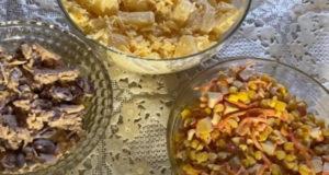 Трио новогодних салатов Вкусный бюджет