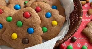 Шоколадное печенье на Новый год Ёлочки