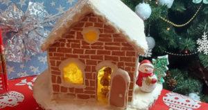 Имбирное печенье и пряничный домик