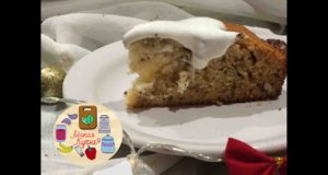 Медовый пирог с грецкими орехами