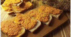Морковная закуска на новый год