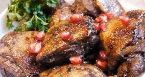 Жаркое из утки в необычном маринаде