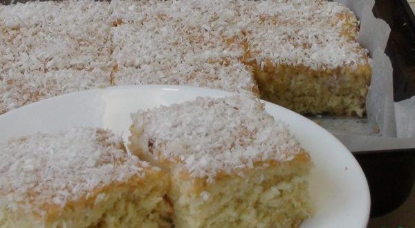 Сочный кокосоый пирог
