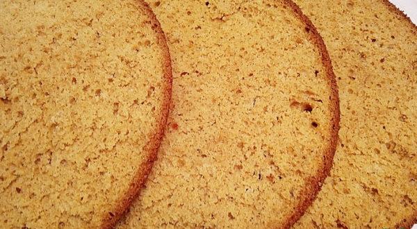 Карамельный бисквит на топленом молоке