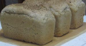 Хлеб геркулесовый формовой на закваске