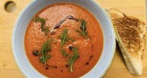 Безумно вкусный томатный суп с фенхелем