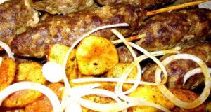 Сочный люля-кебаб из мяса косули