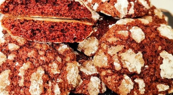Печенье Красный бархат
