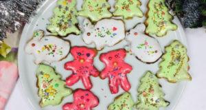 Имбирное печенье в разноцветной глазури