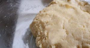 Песочное тесто для пирогов рулетов