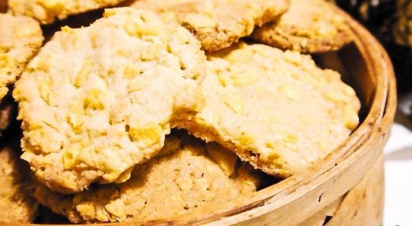 Печенье в кукурузных хлопьях