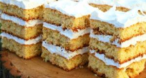 Торт Львовский с белковым кремом