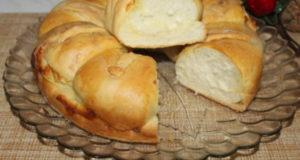 Воздушный хлеб с брынзой