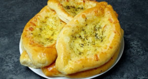 Лодочки с картофельно-сырной начинкой