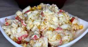 Салат из крабовых палочек Крабстер
