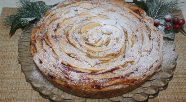 Простой и вкусный яблочный пирог