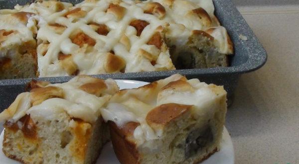 Фруктовый пирог с заварным кремом