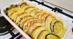 Запеченные кабачки в духовке