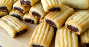Нежное рассыпчатое печенье с начинкой