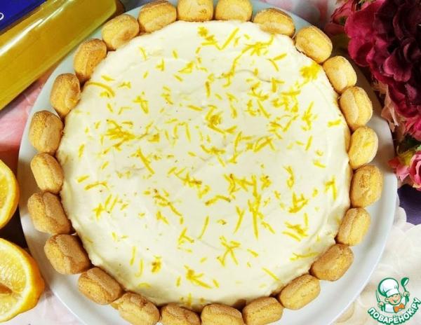 Лимонный тирамису без сырых яиц