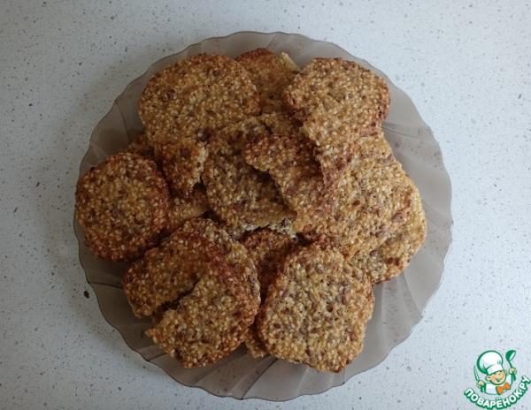 Кунжутное печенье за 30 минут