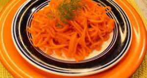 Сочный салат из моркови за 5 минут
