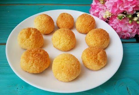 Кокосовые печенья без муки