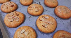 Печенье с апельсином и розмарином
