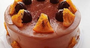 """Торт """"Апельсин с шоколадом"""""""