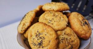 Печенье с сыром и орехами