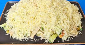 Салат с копчёной индейкой