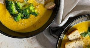 Крем суп с кешью