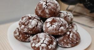 Треснутое мраморное печенье