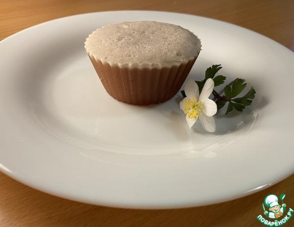 Нежный шоколадный десерт с желатином