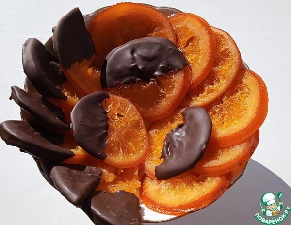 Апельсины вяленые