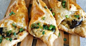 Пирожки с картошкой грибами и сыром