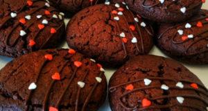Удачное печенье Красный бархат