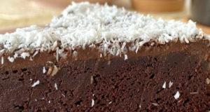 Шоколадный торт без муки сахара глютена